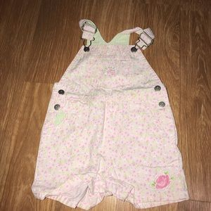 Size 12 Months carters overalls